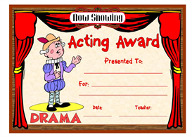 Acting Award | Other Files | Documents and Forms