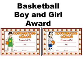 BasketballBoyandGirlAward | Other Files | Documents and Forms