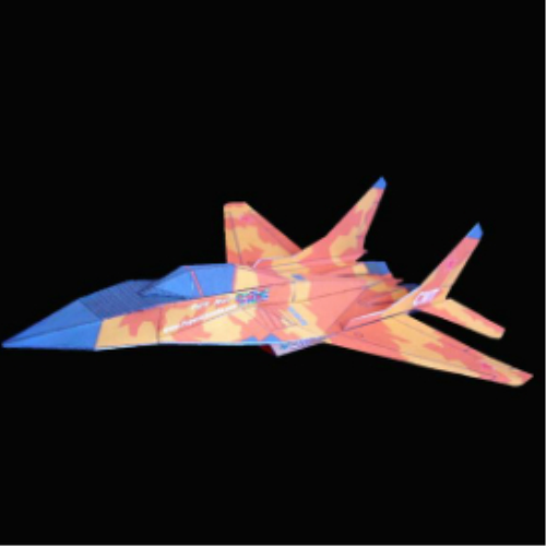 First Additional product image for - Paper Mig-29 Desert