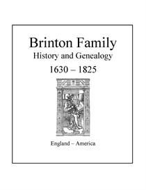 brinton family history and genealogy