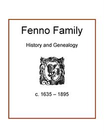 fenno family history and genealogy