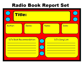 Radio Book Report Set | Other Files | Documents and Forms