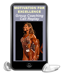 motivation for excellence group coaching call replay- mp3 download