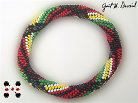 mcfarland plaid bead crochet bracelet pattern
