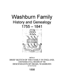 Washburn Family History and Genealogy | eBooks | History
