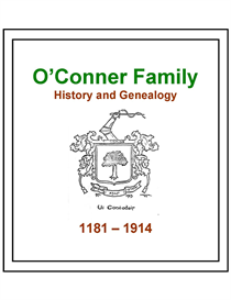 """o""""conner family history and genealogy"""