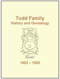 todd family history and genealogy
