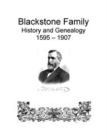 Blackstone Family History and Genealogy | eBooks | History