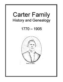 carter family history and genealogy