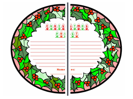 a christmas carol group project wreaths