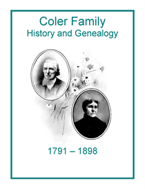 Coler Family History and Genealogy | eBooks | History