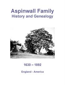 aspinwall family history and genealogy