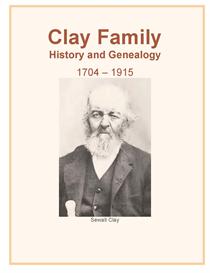 Clay Family History and Genealogy | eBooks | History