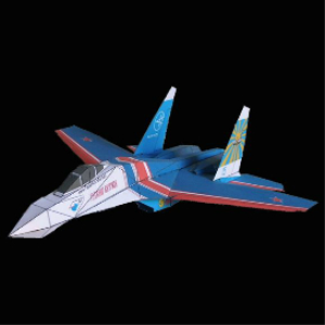 Paper Su-27 Russian Knights | Crafting | Paper Crafting | Other