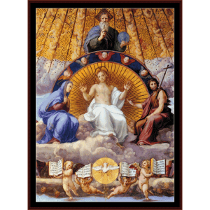 Stanza della Segnatura - Raphael cross stitch pattern by Cross Stitch Collectibles | Crafting | Cross-Stitch | Wall Hangings