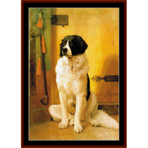 Study of a Dog - Gerome cross stitch pattern by Cross Stitch Collectibles | Crafting | Cross-Stitch | Wall Hangings