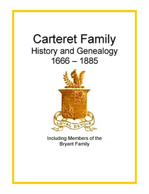 carteret bryant family history and genealogy