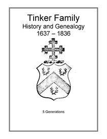 tinker family history and genealogy