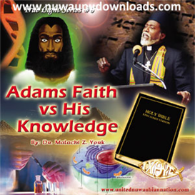 adam's knowledge vs. his faith