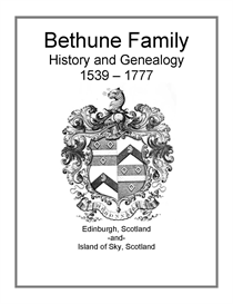 bethune family history and genealogy