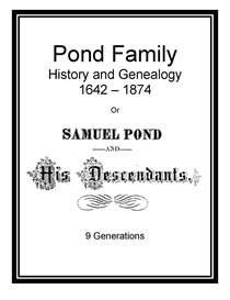 pond family history and genealogy