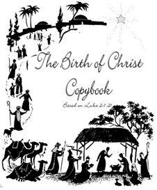 the birth of christ copybook