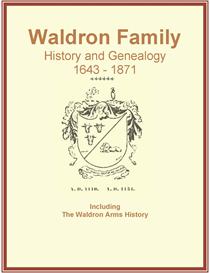 waldron family history and genealogy