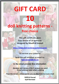 gift card 10 patterns