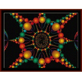 Fractal 175 cross stitch pattern by Cross Stitch Collectibles | Crafting | Cross-Stitch | Wall Hangings