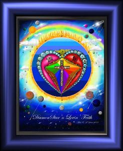 Diamond Star'n Lovin' Faith | Photos and Images | Digital Art