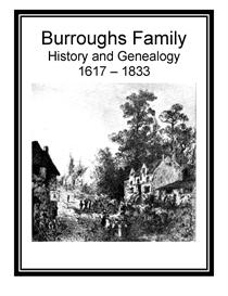 Burroughs Family History and Genealogy | eBooks | History