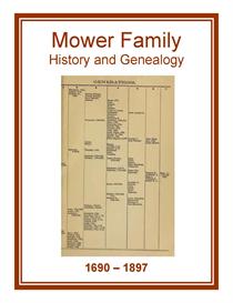 Mower Family History and Genealogy | eBooks | History