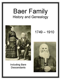 baer family history and genealogy