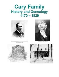 cary family history and genealogy