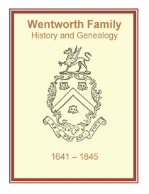 Wentworth Family History and Genealogy | eBooks | History