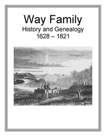 Way Family History and Genealogy | eBooks | History