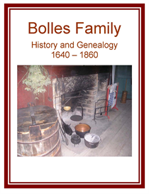 bolles family history and genealogy