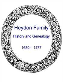 Heydon Family History and Genealogy | eBooks | History