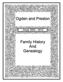ogden preston family history and genealogy