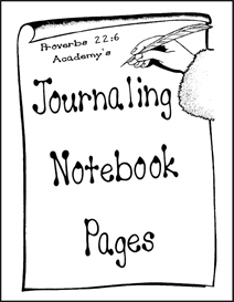 Journaling Notebook Pages   eBooks   Education