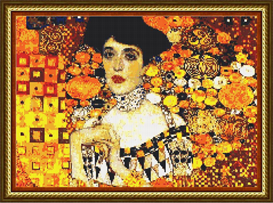 Adele by Klimt | Other Files | Arts and Crafts