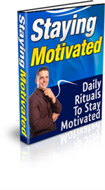 staying motivated ebook with resale rights