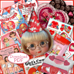 Valentine FUN STUFF for 10-12 dolls (Anne Estelle) | eBooks | Arts and Crafts