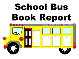 school bus book report