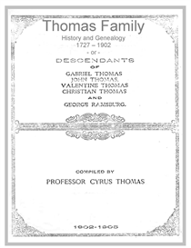 thomas family history and genealogy