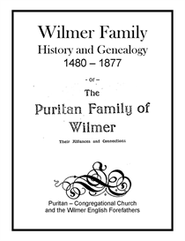 wilmer family history and genealogy