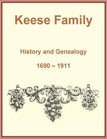 Keese Family History and Genealogy | eBooks | History