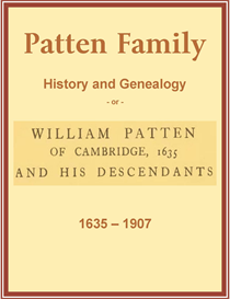 patten family history and genealogy