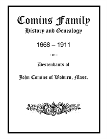 comins family history and genealogy