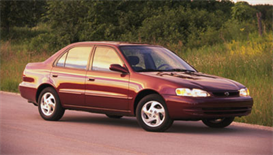 2000 Toyota Corolla MVMA Specifications | eBooks | Automotive